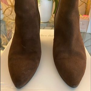 Charles David, Brown Suede Boots